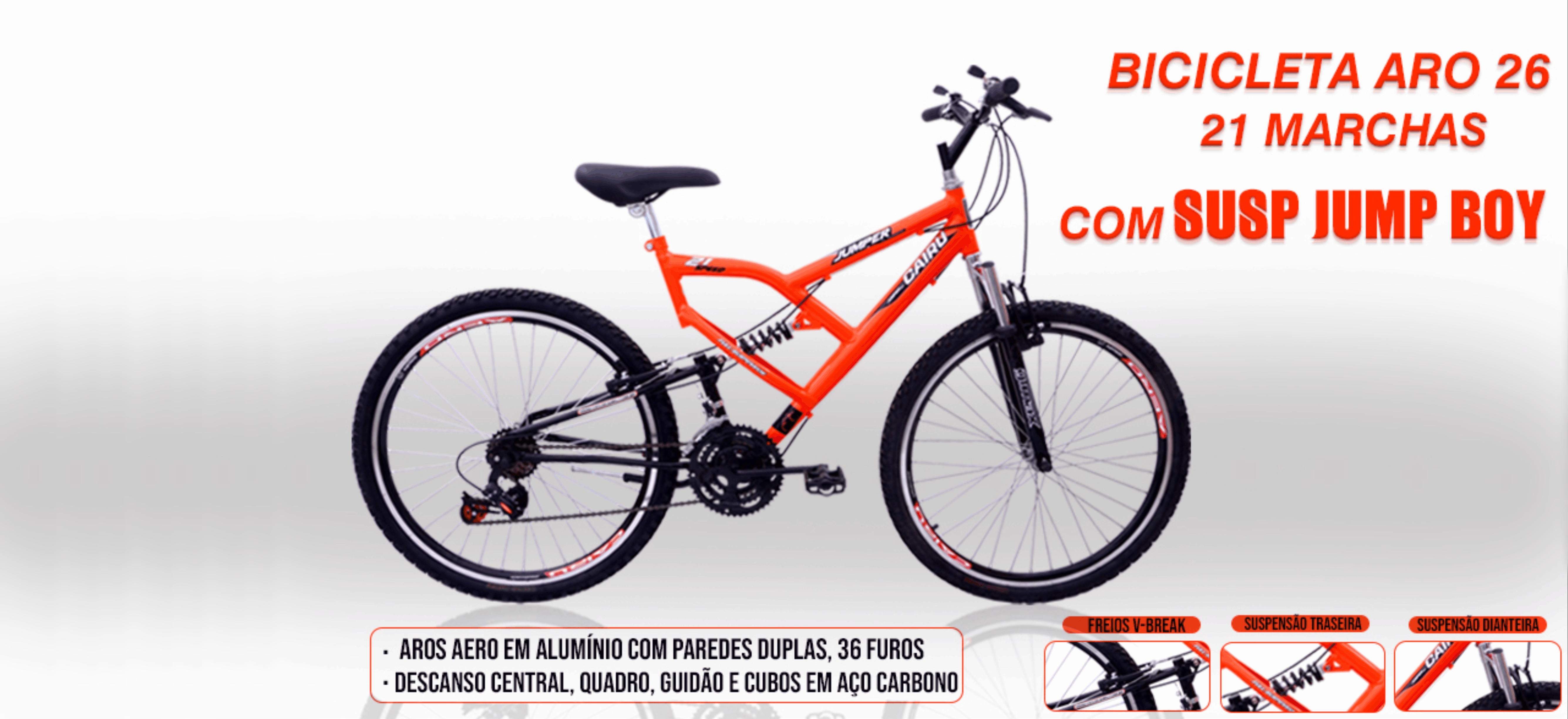 teste cairu bicicletas